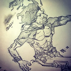 adam (fixionauta) Tags: instagramapp square squareformat iphoneography uploaded:by=instagram unknown goran petrovic books book fixionauta renato sketchbook sketch quiroga