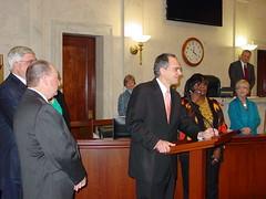 Honoring Senator David Wyatt