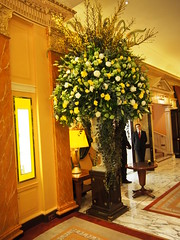 Inside the Dorchester.