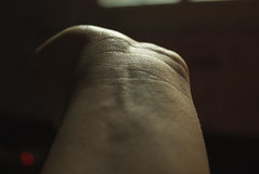 Invisible veins (Thoughts in a dream) Tags: color blurry hands soft arm body