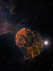 IC443 The Jellyfish Nebula (Simon Addis) Tags: stars space nebula astrophotography astronomy supernova universe takahashi gemini ic443 jellyfishnebula astrometrydotnet:status=solved qsi683ws astrometrydotnet:id=nova998346