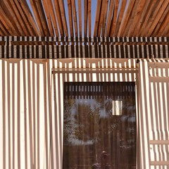 Tagus Linear Park #3 (TheManWhoPlantedTrees) Tags: park wood lines metal architecture structure pvoadesantairia arquitecturaportuguesa nikond3100 tmwpt
