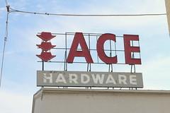 Ace Hardware (Ryan Ojibway) Tags: sign wisconsin hardwarestore ace wi janesville acehardware rockcounty