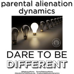 dare to be different (Parental Alienation Dynamics) Tags: child narcissist personality domestic parent hcp divorce violence disorder soc bpd bully abuse parental borderline npd proxy narc alienation selfie sociopath childabuse familylaw familycourt pathogenic hostileaggressive highconflict