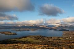 Looking over Loch Lomond (Damon Finlay) Tags: park landscape bay scotland highlands fuji hill scottish national loch lomond fujinon trossachs lochlomond scottishhighlands conic balmaha conichill highlandsandislands xe1 millarochy f284 trossachsnationalpark millarochybay fujixe1 xf1855mm xf1855mmf284