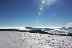 die Rhn (beudii) Tags: schnee winter snow germany landscape deutschland berge landschaft sonne rhn wasserkuppe rhoen