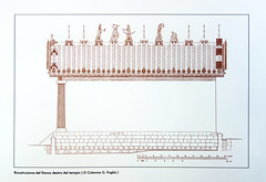 Etruscan Temple Elevation (side)