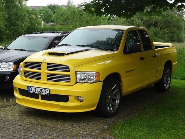 germany deutschland pickup dodge ram bitburg yellowfever srt10 2014