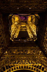Eiffel Tower by Night (IFM Photographic) Tags: paris france night canon eiffeltower nighttime sp latoureiffel champdemars 75007 tamron 7th f28 7me gustaveeiffel 7e 600d 1750mm ladamedefer 7tharrondisment tamronsp1750mm arondisment tamronsp1750mmf28diiivc img7120a