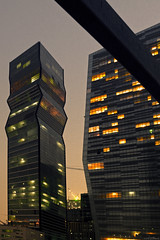 KAFD,Riyad's Newest Glamorous District I. Feb-20-15 (Bader Alotaby) Tags: travel sunset building art beautiful skyline architecture night skyscraper nikon tokina highrise residential riyadh saudiarabia bader ksa 18200mm d7100 kafd riyadhlnadscape