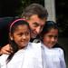 Mauricio Macri asistió a una escuela primaria en el primer día de clases de la Ciudad de Buenos Aires.