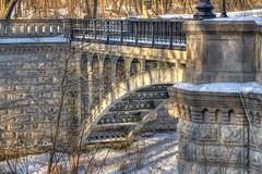 LionBridge (jmishefske) Tags: park county bridge wisconsin march nikon downtown lion pedestrian milwaukee lions lakepark lakefront 2015 oscarsanne d800e