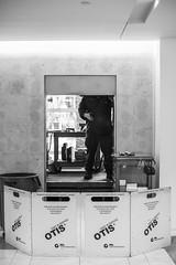 54:365:2015BWH (hermitsmoores) Tags: bw nikon otis elevator maintenance february fullframe fx pictureoftheday d800 rpa coloradocenter nikond800 february2015 3652015
