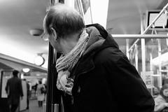 KLDE2756_S (Konrad Lembcke) Tags: life street portrait people urban bw white black berlin station germany subway photography europe fuji daily u commuter bahn xt1
