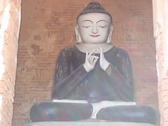 Black Robed Buddha