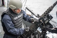 150307-N-LX437-013 (U.S. Pacific Fleet) Tags: shiloh machinegun 50caliber waterstotheeastofjapan