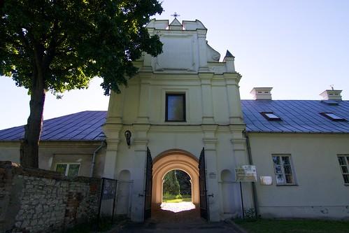 Brama Uściłuska (1616) w zespole pokatedralnym w Chełmie od wschodu