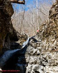 Jericho Falls - March 15, 2015 (mikerhicks) Tags: winter people usa geotagged unitedstates hiking tennessee alabama waterfalls jericho wallsofjericho belvidere scottsboro tennesseestateparks jerichofalls wallsofjerichostatenaturalarea sigma18250mmf3563dcmacrooshsm canoneos7dmkii geo:lat=3499158333 geo:lon=8610369333 bearhollowmountainwildlifemanagementarea