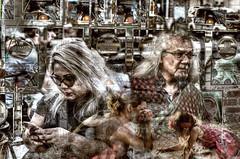 Hamilton Art Crawl 6-10-2016 (Paul B0udreau) Tags: canada ontario paulboudreauphotography niagara d5100 nikon nikond5100 photoshopcc nikkor50mm18 hamilton artcrawl street people