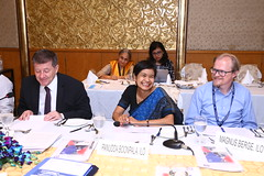 Working lunch with Trade Union Partners (ILO in Asia and the Pacific) Tags: tradeunions povertyreduction workingconditions employment decentwork india