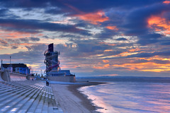 Redcar Sunset. (paul downing) Tags: sunset beach nikon northsea 12 filters hitech northyorkshire redcar gnd pd1001 pauldowning d7200 verticalpier pauldowningphotography