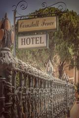 corny HFF (jeneksmith) Tags: hotel corn iron hff fence historic cornstalkhotel frenchquarter bigeasy crescentcity nola neworleans louisiana canon