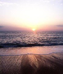 Anglet (mrjcrr) Tags: anglet vue view landscape paysage horizon mer sea plage beach ocean sunset sun soleil sky ciel wave vague sudouest paysbasque france