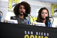 sdcc1183 (Gage Skidmore) Tags: connie nielsen ming na wen morena baccarin melissa benoist nathalie emmanuel tatiana maslany lucy lawless san diego comic con international california convention center ew entertainment weekly women who kick ass