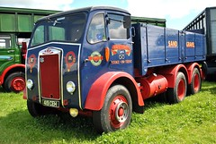 419CEH (stamper104) Tags: truck transport transportintheframe transportoftheworld alltypesoftransport anykindofvehicles british oldtruck vintage albion worldtrucks 6wheeler kelsall2016