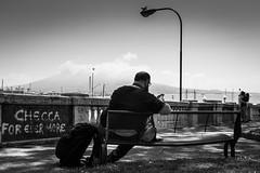 for ever more (MarioMancuso) Tags: life road street city light people urban bw italy woman white black monochrome photography mono photo italian italia noir shot streetphotography documentary mario scene bn naples fujifilm streetphoto blanc reportage monocrome 2016 photogrphy mancuso x100t