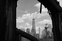 WTC Framed (KlausGadeberg) Tags: newyorkcity newyork wtc freedomtower