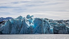 Glacier blue {Explored} (spwasilla) Tags: blue lake alaska canon glacier knik canon6d tamron2470mm