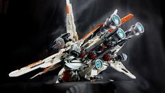 Merkabah gunship - engines (Brick Martil) Tags: toy lego gunship spaceship starfighter ucs merkabah