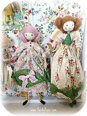 Verity Hope Storybook Ornament Dolls (Verity Hope www.VerityHope.com) Tags: age storybook dolls