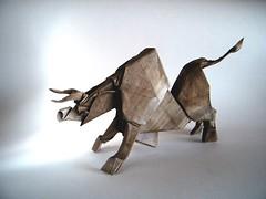 Stock Bull - Andrey Ermakov (Rui.Roda) Tags: origami papiroflexia papierfalten toro touro taureau stock bull andrey ermakov