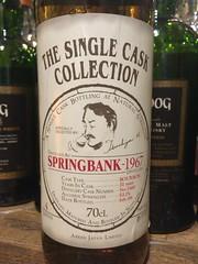 Springbank 1967 31yo 53.1% Bourbon (eitaneko photos) Tags: 2016 june whisky malt bottles single cl springbank 1967 31yo 531 bourbon