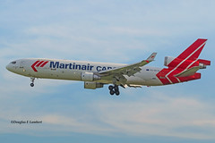 ORD 7/19/2015 (Doug Lambert) Tags: phmcw mcdonnelldouglas md11 cargo martinaircargo airline kord ord ohare chicago illinois airport aviation jet airplane midwest