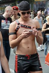 CSD Berlin, July 23, 2016 (ulo2007) Tags: leather gayleather harness fetish leatherman berlinpridegaypridecsdchristopherstreetdayprideparadegaylesbianqueer berlin gaypride pride csd christopherstreetday