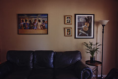 (Mariah Bailey) Tags: livingroom wall decor pinkfloyd poster room home windowlight natural plant quiet canon 24mm