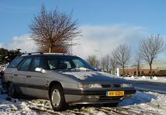 CiFo Nieuwjaarsmeeting 2016 - Sappemeer (Skylark92) Tags: citroen snow winter event xm v6 break station