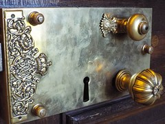(goldstareagle) Tags: handle doorhandle doorlock intricate lock hamptoncourtpalace