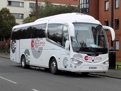 City Circle 49 -  YN14 MVR at Glasgow's Cathedral (Duffy 3) Tags: city circle yn14mvr