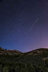 Lost stars (Sal Daz) Tags: night nikond810 nikonflickraward nikon nikonista tamron stars sky landscape country countryside madrid pedriza longexposure star estrellas nature naturaleza