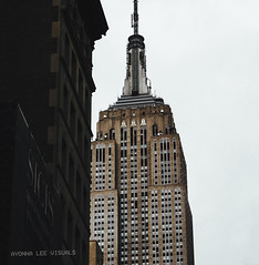 Empire State Building (Ayonna Lee) Tags: empirestatebuilding empirestate nyc newyorkcity midtown manhattan 5thavenue skyscraper nycphotography nikon nikonphotography lowangle building urban urbanphotography travel