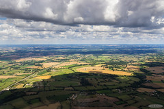 Shadow evolving on Normandy (France) (AstroGuiGeek) Tags: normandie normandy aerialview vuearienne planeur glider vol survol flyover flight orne nuages clouds cloudsstormssunsetssunrises paysages landscapes ciel sky vueduciel aerialphotography canoneos600d astroguigeek canon eos600d t3i 600d rebelt3i