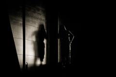 Silhouette shadow (Hernan Piera) Tags: oscuridad claroscuro sombra silueta blancoynegro chica mujer contraste contraluz chiaroscuro dark shadow silhouette blackandwhite woman girl contrast backlight foto fotografia photo photographer imagen image pic fotografo hernanpiera photography picture