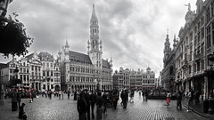 Grand Place - Brussels (alestaleiro) Tags: grandplace granplaza bruselas brussels bruxelles belgium belgique blgica alestaleiro arquitectura architecture asbeautifulasyouwant