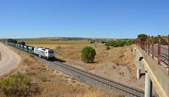 San Romn de Hornija (Jorge-Snchez) Tags: ferrocarril tren san roman de hornija mercancas 333 balastero valladolid