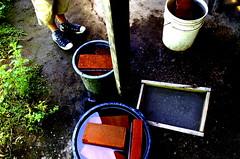 Katie and Bubble Bricks (Calley Piland) Tags: guatemala patulup mission stoves cheyenneumc vimguatemala vim methodist umvim umc stovebuildersofguatemala