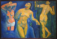 Andr Derain, Bathers, 1907 (Sharon Mollerus) Tags: museumofmodernart newyork unitedstates